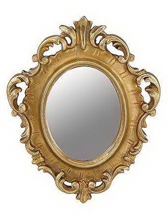 Καθρέπτης Τοίχου Ξύλινος – Polyresin Αντικέ PAPSHOP 12,8×16,2εκ. KI46 (Υλικό: Ξύλο, Χρώμα: Χρυσό ) – PAPADIMITRIOU INTERIOR PAPSHOP – KI46