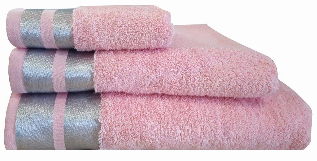 Πετσέτα Μεμονωμένη Βαμβακερή Σώματος 90×150εκ. Makis Tselios Ice Ροζ (Ύφασμα: Βαμβάκι 100%, Χρώμα: Ροζ) – Makis Tselios – 301730123456