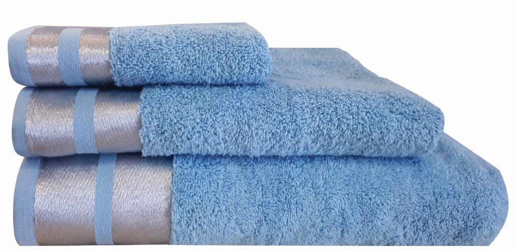 Πετσέτα Μεμονωμένη Βαμβακερή Σώματος 90×150εκ. Makis Tselios Ice Γαλάζιο (Ύφασμα: Βαμβάκι 100%, Χρώμα: Γαλάζιο ) – Makis Tselios – 301760123456