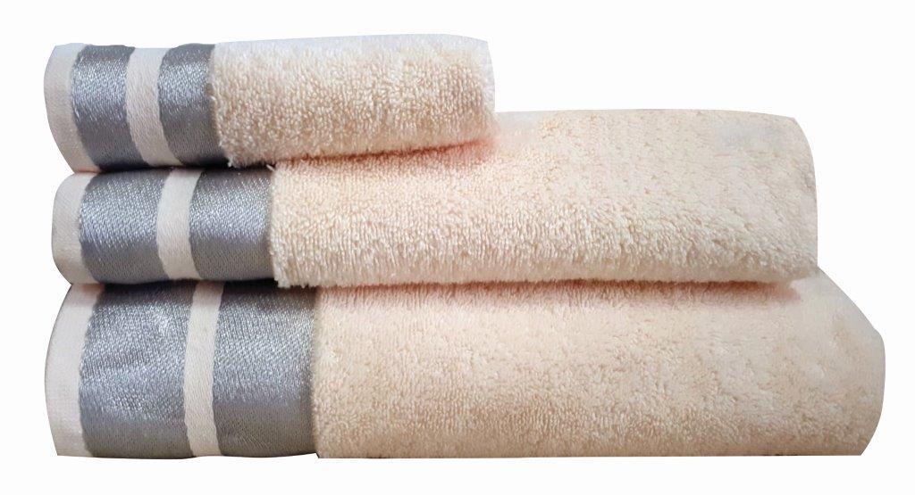 Πετσέτα Μεμονωμένη Βαμβακερή Σώματος 90×150εκ. Makis Tselios Ice Ecru (Ύφασμα: Βαμβάκι 100%, Χρώμα: Εκρού ) – Makis Tselios – 301780123456