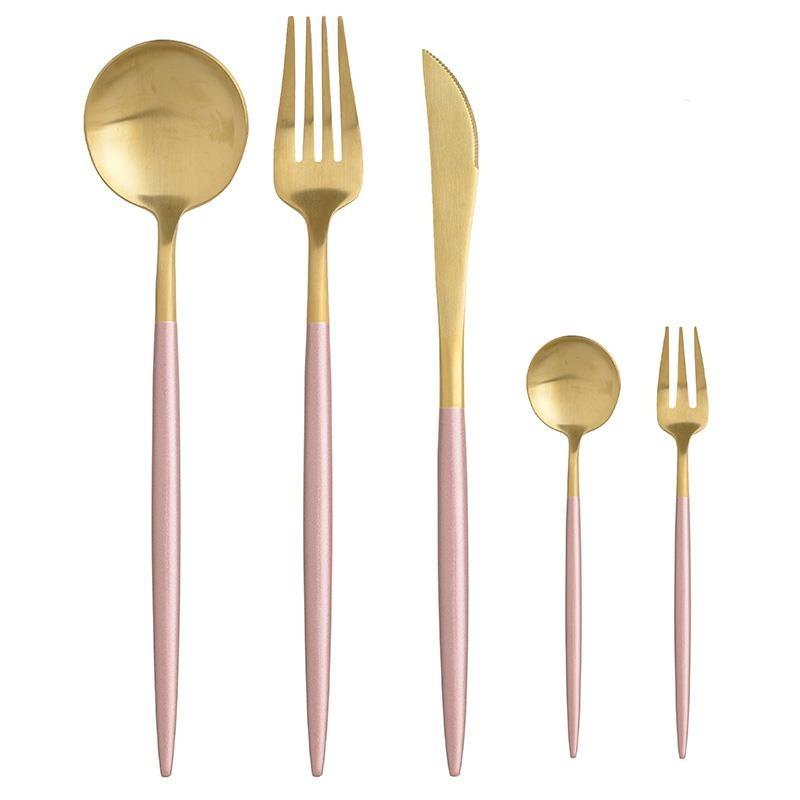 Σετ Μαχαιροπήρουνα 30τμχ Μεταλλικά inart 7-60-394-0018 (Υλικό: Μεταλλικό, Χρώμα: Ροζ) – inart – 7-60-394-0018