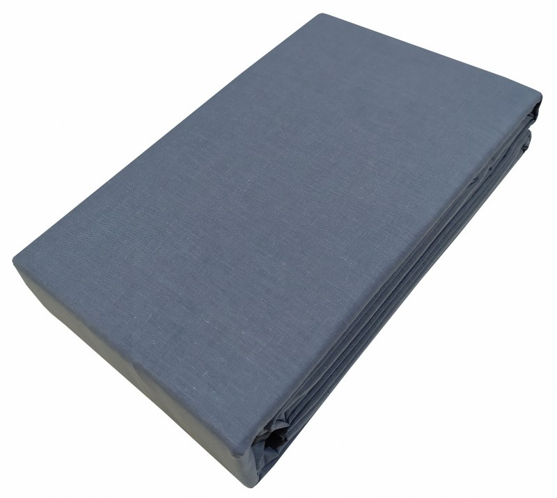 Σεντόνι Μεμονωμένο Βαμβακερό Μονό 170×270εκ. Le Blanc Premium Sky Grey (Ύφασμα: Βαμβάκι 100%, Χρώμα: Γκρι) – Le Blanc – 7000290-14