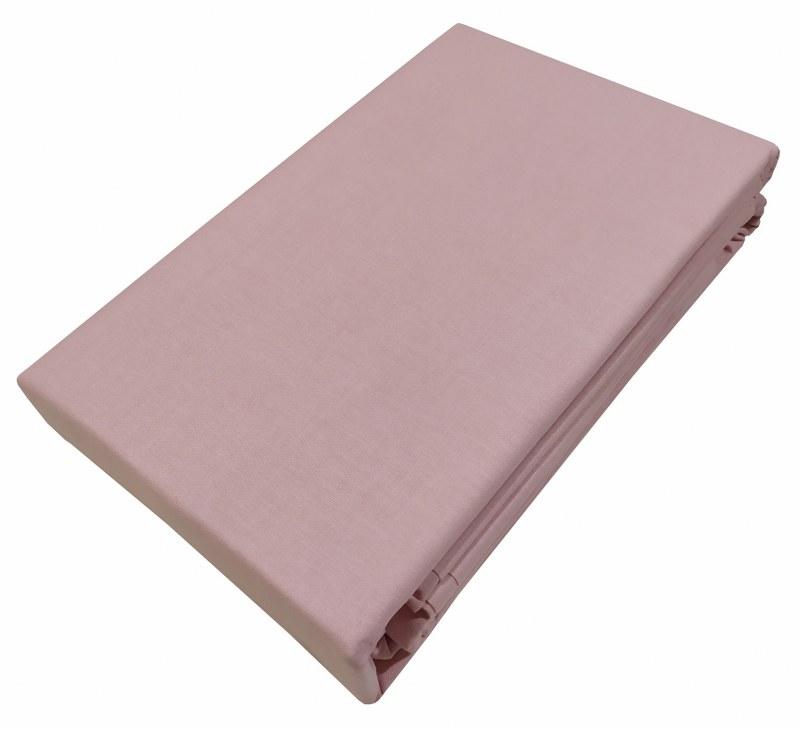 Σεντόνι Μεμονωμένο Βαμβακερό Υπέρδιπλο 220×270εκ. Le Blanc Premium Light Pink (Ύφασμα: Βαμβάκι 100%, Χρώμα: Ροζ) – Le Blanc – 7000306-16