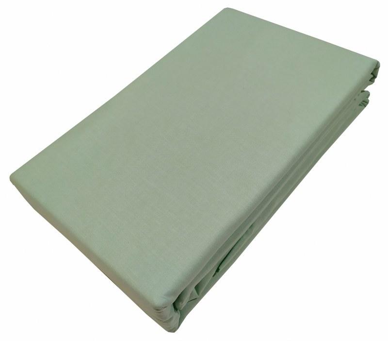 Σεντόνι Μεμονωμένο Βαμβακερό Υπέρδιπλο Με Λάστιχο 160×200+33εκ. Le Blanc Premium Mint (Ύφασμα: Βαμβάκι 100%, Χρώμα: Φυστικί) – Le Blanc – 7000306-19F