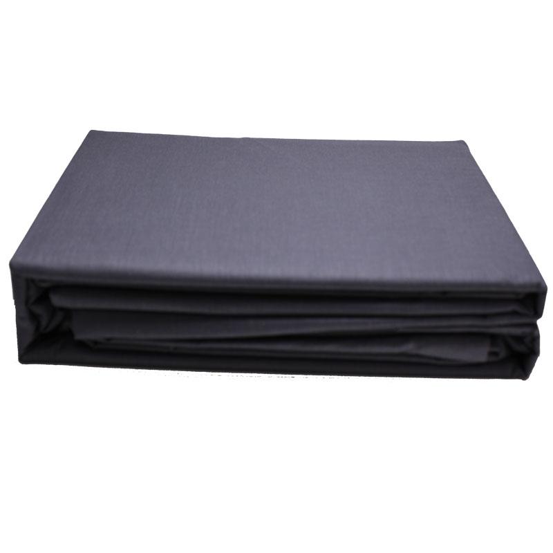 Σεντόνι Μεμονωμένο Βαμβακερό Με Λάστιχο Υπέρδιπλο 160×200+33εκ. Dark Grey 24home (Ύφασμα: Βαμβάκι 100%, Χρώμα: Ανθρακί) – 24home.gr – 24-last-8