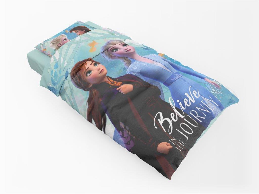 Σετ Παπλωματοθήκη Βαμβακερή Μονή 160×240εκ. Frozen 980 Digital Print Disney Dimcol (Ύφασμα: Βαμβάκι 100%) – Disney – 2121615200698099