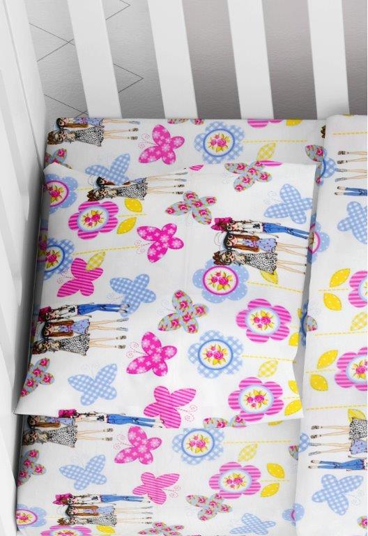 Μαξιλαροθήκη Φάκελος Βαμβακερή Bebe 35×45εκ. Girls 59 Lilac Dimcol (Ύφασμα: Βαμβάκι 100%, Χρώμα: Λιλά) – DimCol – 1915817708105974