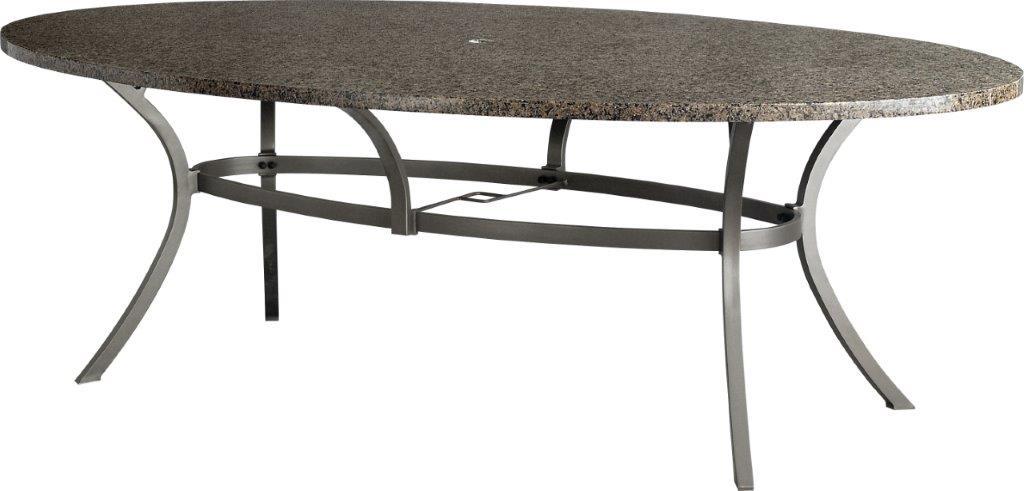 Τραπέζι Εξωτερικού Χώρου Οβάλ Πέτρινο-Αλουμινίου 230x130x72εκ. Napoli BEL2364000 (Υλικό: Αλουμίνιο) – OEM – 4-BEL2364000