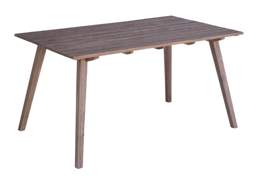 Τραπέζι Εξωτερικού Χώρου Ξύλινο 150x90x76εκ. Modena EURMOD150 (Υλικό: Ξύλο) – OEM – 4-EURMOD150