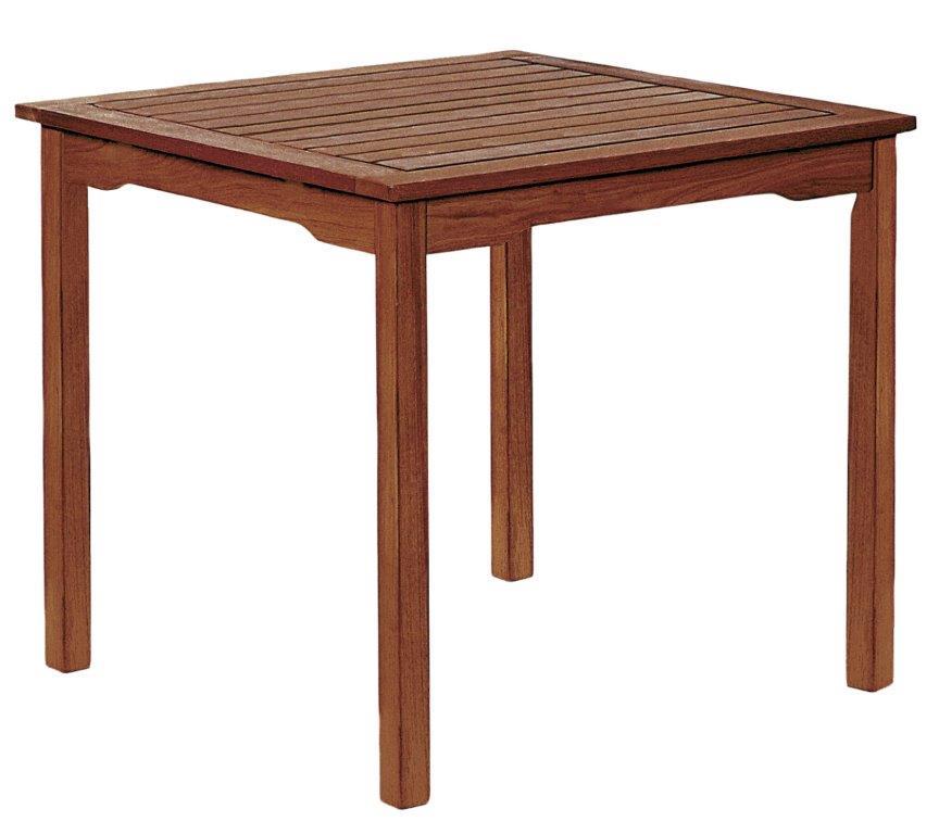 Τραπέζι Τετράγωνο Ξύλινο 80x80x73εκ. Samurai MBM640035 (Υλικό: Ξύλο) – OEM – 4-MBM640035