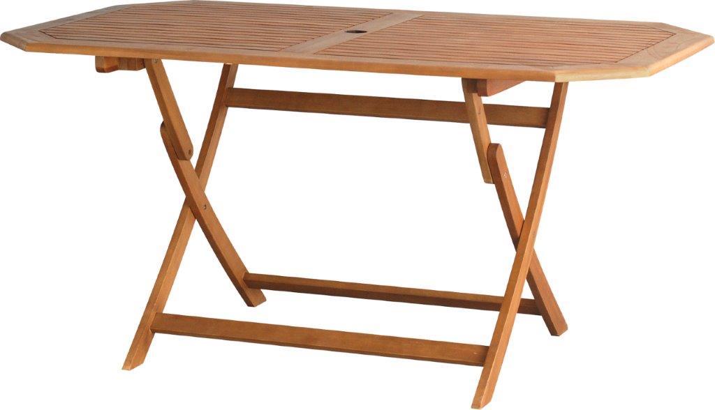 Τραπέζι Εξωτερικού Χώρου Πτυσσόμενο Ξύλινο 150x85x74εκ. NGH10001 (Υλικό: Ξύλο) – OEM – 4-NGH10001