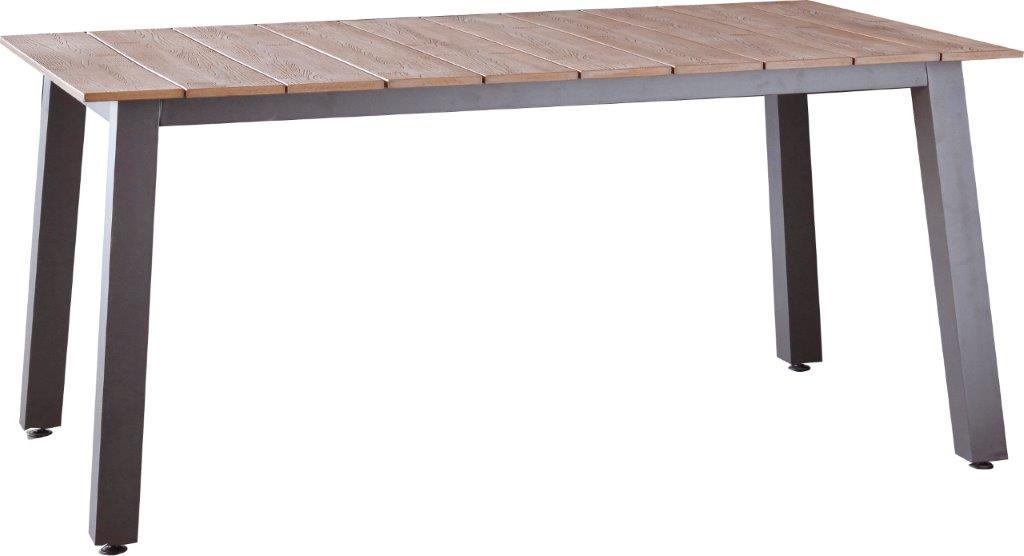 Τραπέζι Εξωτερικού Χώρου Αλουμινίου-Polywood 170x90x75εκ. CIN2511033 (Υλικό: Αλουμίνιο) – OEM – 4-CIN2511033
