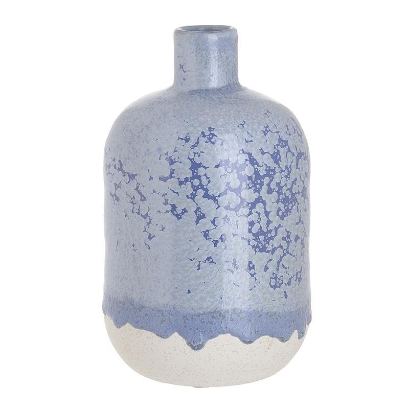 Βάζο Κεραμικό inart 13×22εκ. 3-70-663-0282 (Υλικό: Κεραμικό, Χρώμα: Λευκό) – inart – 3-70-663-0282