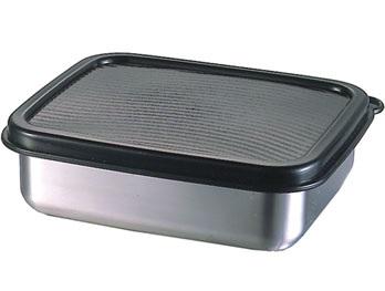 Κουτί Ψυγείο-Φαγητοδοχείο Ανοξείδωτο 18/10 Veltihome 23,3×8,9εκ. 3224 (Υλικό: Ανοξείδωτο) – VELTIHOME – 3224