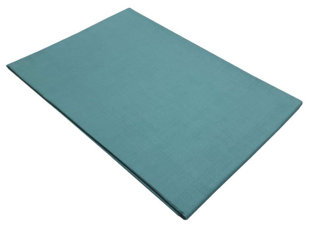 Σεντόνι Μεμονωμένο Με Λάστιχο Polycotton Ημίδιπλο 120×200+20εκ. Petrol (Ύφασμα: 50%Cotton-50%Polyester, Χρώμα: Πετρόλ ) – KOMVOS HOME – 7009466-29F