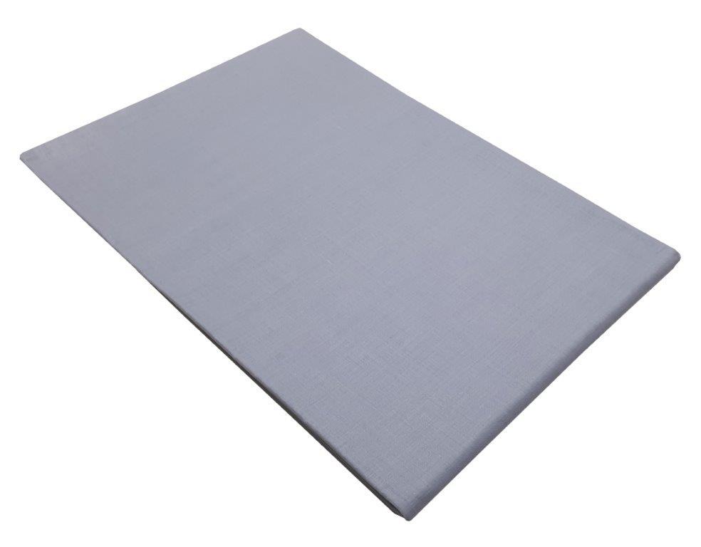 Σεντόνι Μεμονωμένο Με Λάστιχο Polycotton Ημίδιπλο 120×200+20εκ. Lavender (Ύφασμα: 50%Cotton-50%Polyester, Χρώμα: Μωβ) – KOMVOS HOME – 7009466-30F