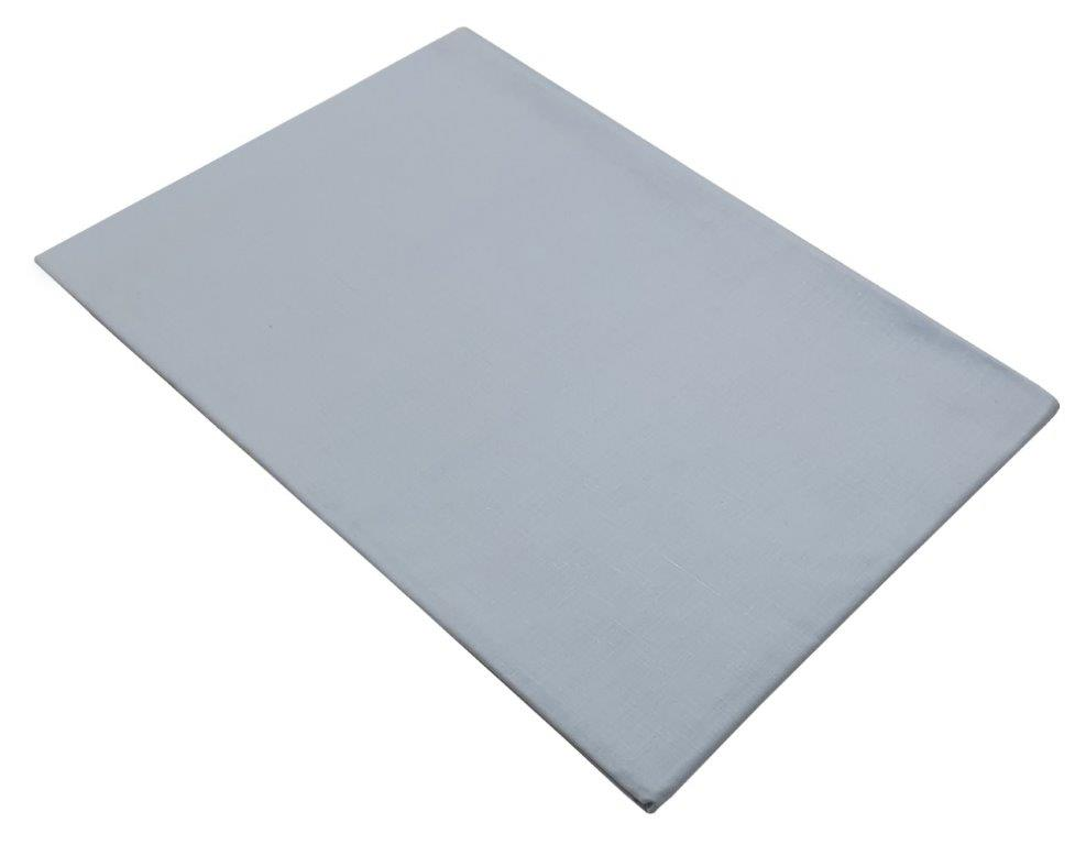 Σεντόνι Μεμονωμένο Με Λάστιχο Polycotton Ημίδιπλο 120×200+20εκ. Baby Blue (Ύφασμα: 50%Cotton-50%Polyester, Χρώμα: Γαλάζιο ) – KOMVOS HOME – 7009466-31F
