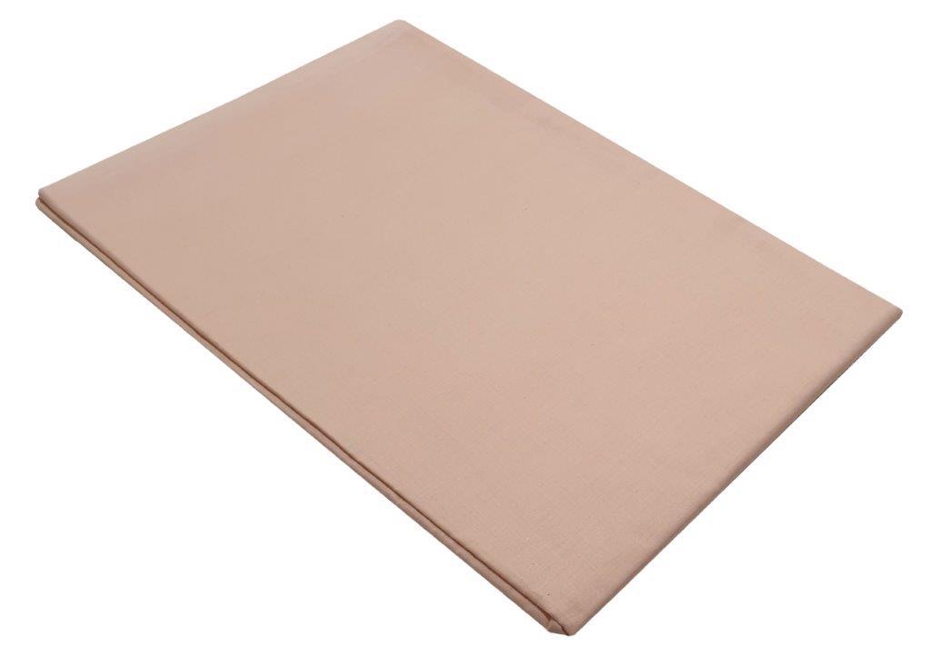 Σεντόνι Μεμονωμένο Με Λάστιχο Polycotton Ημίδιπλο 120×200+20εκ. Powder (Ύφασμα: 50%Cotton-50%Polyester, Χρώμα: Ροζ) – KOMVOS HOME – 7009466-32F