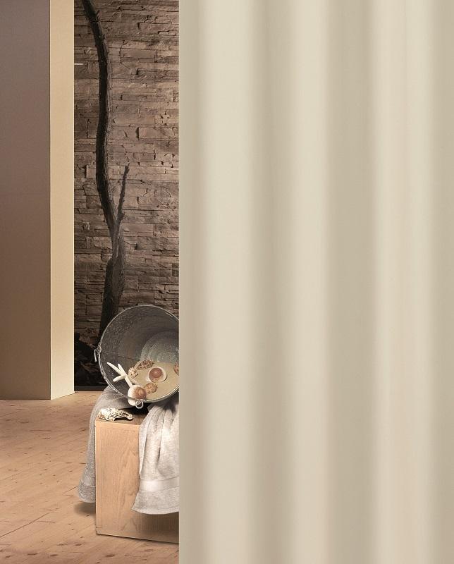 Κουρτίνα Μπάνιου Πλαστική 240x200εκ. Solid Ecru 003-00009 (Χρώμα: Εκρού ) - Joy Bath Accessories - 003-00009