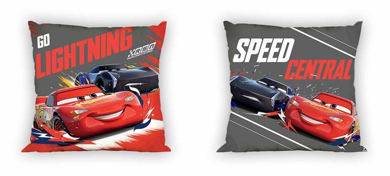 Μαξιλάρι Διακοσμητικό Polyester 40×40εκ. Cars 17 Digital Print Disney Dimcol (Ύφασμα: Polyester) – Disney – 2120622600401799