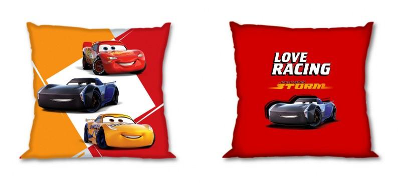 Μαξιλάρι Διακοσμητικό Polyester 40×40εκ. Cars 20 Digital Print Disney Dimcol (Ύφασμα: Polyester) – Disney – 2120622600402099