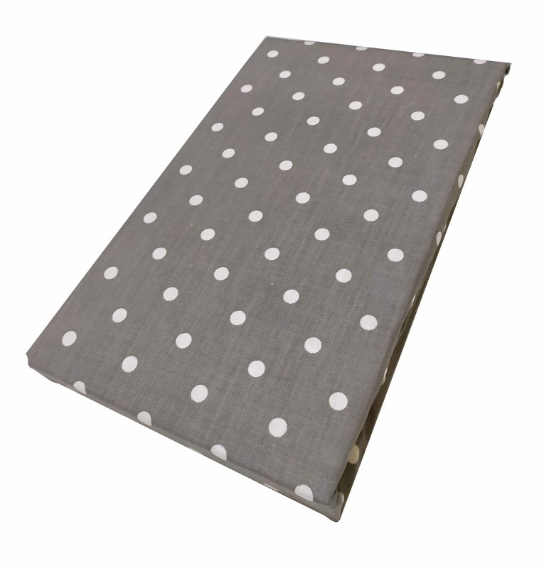 Ζεύγος Μαξιλαροθήκες Polycotton 50×70εκ. Πουά Grey (Ύφασμα: 50%Cotton-50%Polyester, Χρώμα: Γκρι) – KOMVOS HOME – 7000139-16