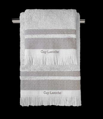 Σετ Πετσέτες 3τμχ Βαμβακερές Boston Grey Guy Laroche (Ύφασμα: Βαμβάκι 100%, Χρώμα: Γκρι) - Guy Laroche - boston-grey