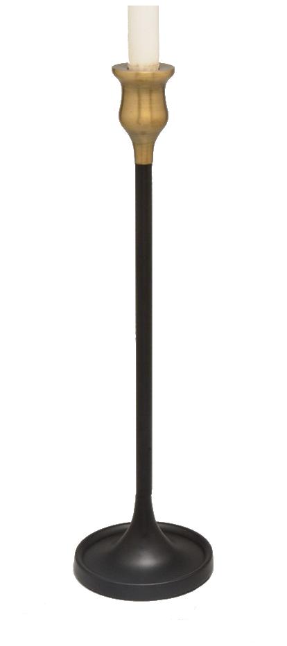 Κηροπήγιο Μεταλλικό Αντικέ PAPSHOP 12×40εκ. PA62 (Υλικό: Μεταλλικό, Χρώμα: Μαύρο) – PAPADIMITRIOU INTERIOR PAPSHOP – PA62