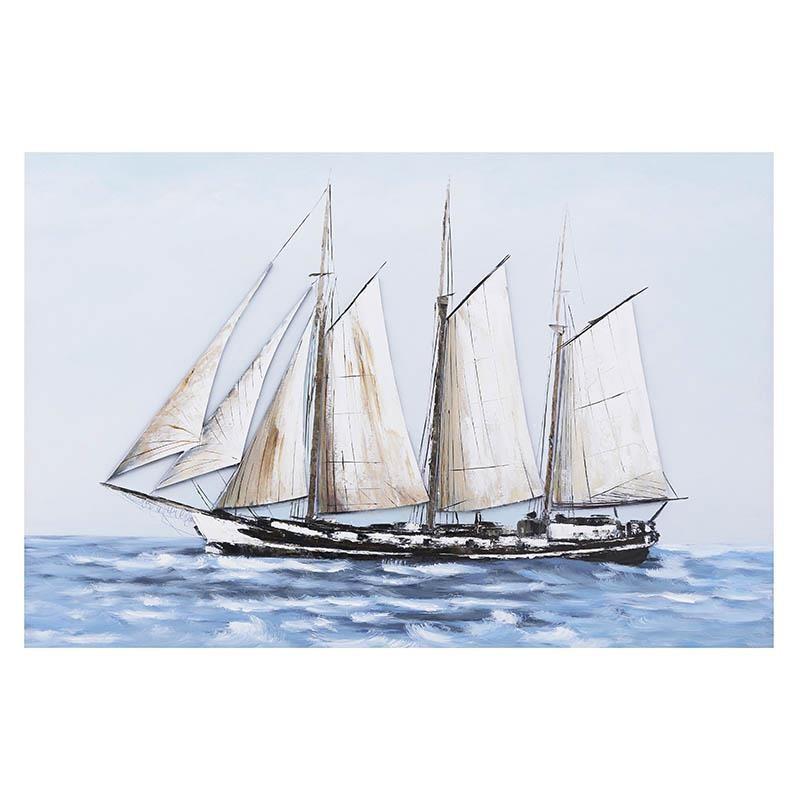 Πίνακας-Καμβάς inart 120x3x80εκ. 3-90-859-0135 (Ύφασμα: Καμβάς) - inart - 3-90-859-0135