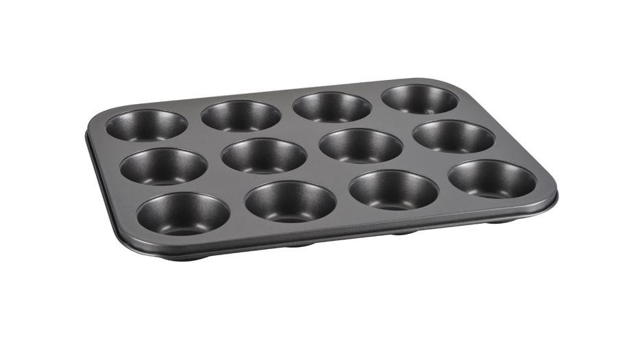 Δίσκος Muffin 12 Θέσεων Αντικολλητικός 39×29,5×3εκ. Veltihome – VELTIHOME – 419407