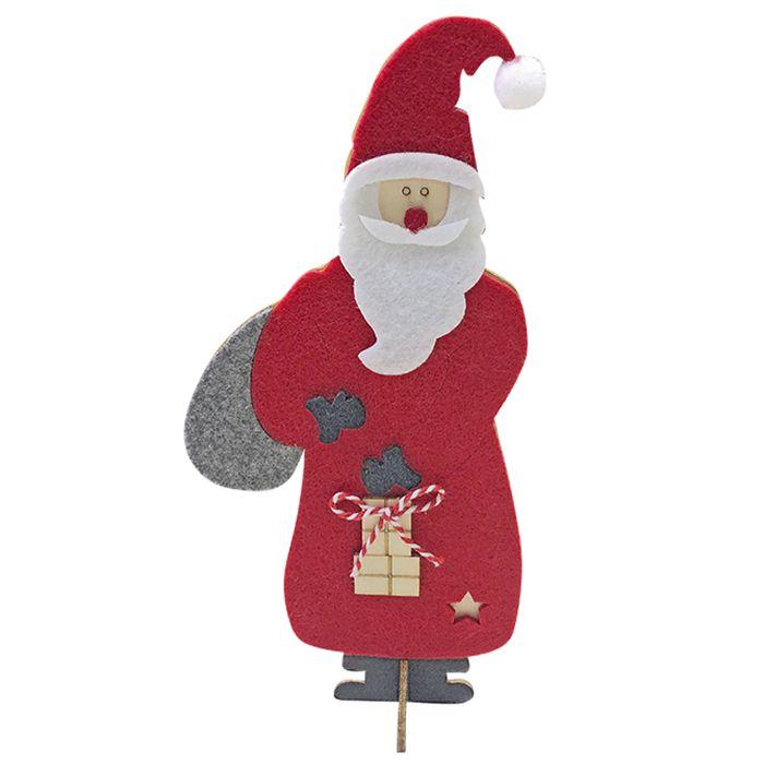 Διακοσμητικός Άγιος Βασίλης 9×20εκ. Xmasfest – Xmas fest – 93-2724