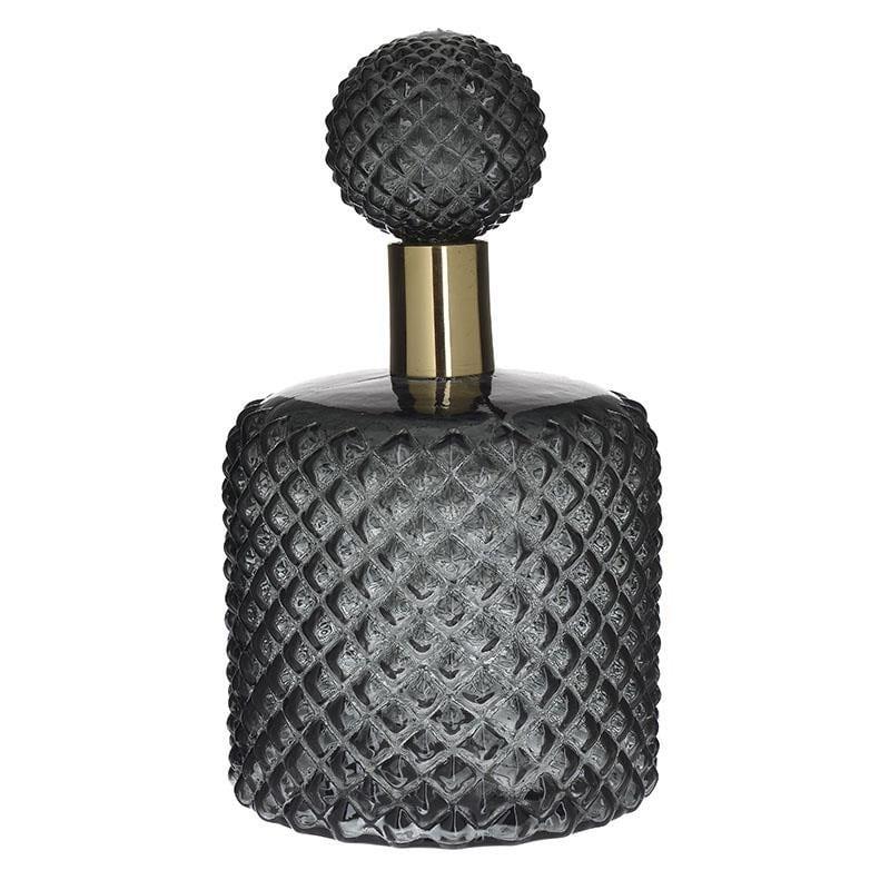 Καράφα Γυάλινη-Μεταλλική inart 17×32εκ. 3-70-085-0176 (Υλικό: Μεταλλικό, Χρώμα: Μαύρο) – inart – 3-70-085-0176