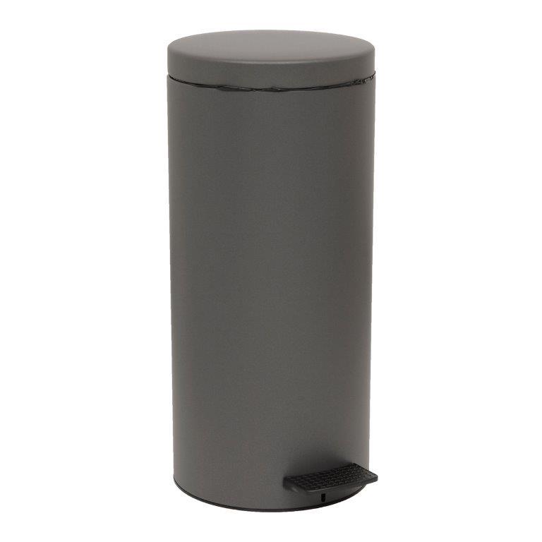 Καλάθι Απορριμμάτων 25lt GLV Pam & Co 25×53εκ. 2553-113 (Χρώμα: Ανθρακί) – Pam & Co – 2553-113