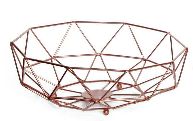 Φρουτιέρα Copper Estia 28x28x10εκ. 01-1506 – estia – 01-1506