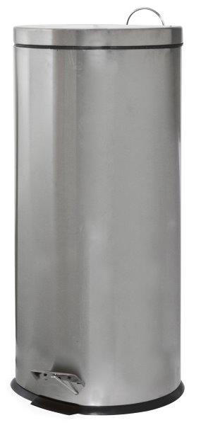 Κάδος Απορριμμάτων Classic 30lt Inox Εstia 29,5x29,5x64,5εκ. 01-1759 - estia - 0 ειδη οικ  χρησησ κάδοι   καλάθια απορριμάτων