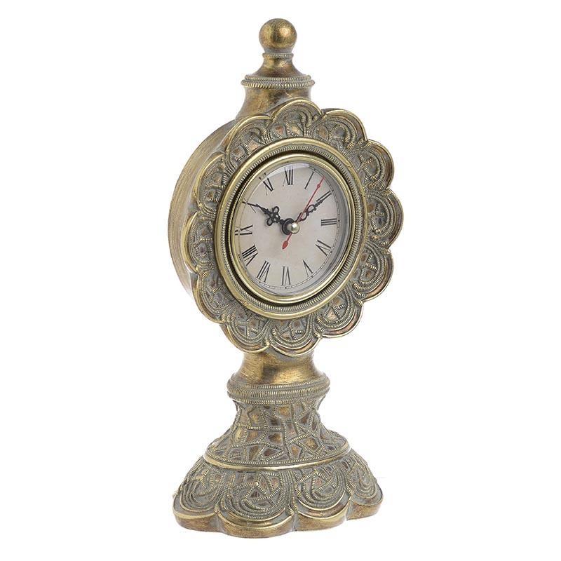 Ρολόι Επιτραπέζιο Polyresin inart 24x12,5x9,8εκ. 3-20-383-0002 - inart - 3-20-38 διακοσμηση κουζίνα ρολόγια