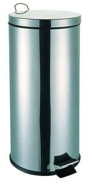 Κάδος Απορριμμάτων Classic 20lt Inox Εstia 28x44εκ. 01-0073 - estia - 01-0073 ειδη οικ  χρησησ κάδοι   καλάθια απορριμάτων