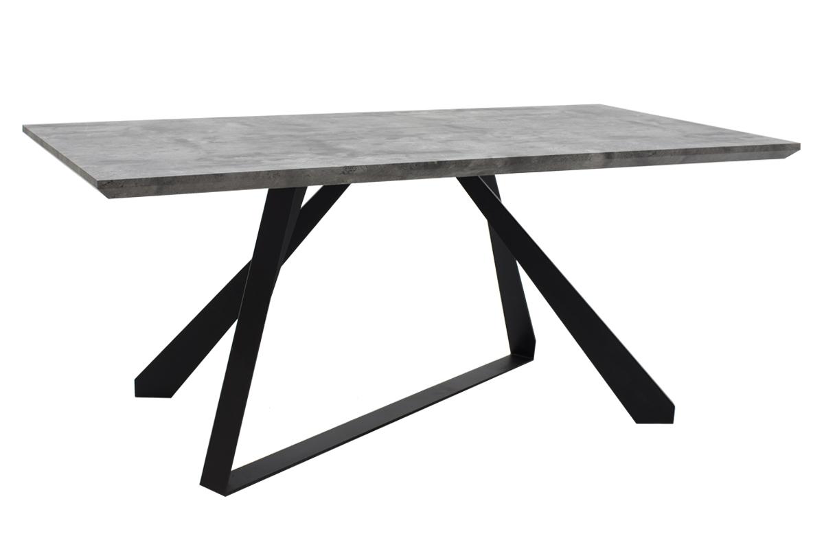 Τραπέζι Soho Ξύλινο – Μεταλλικό 180x90x75εκ. 011-000021 – OEM – 011-000021