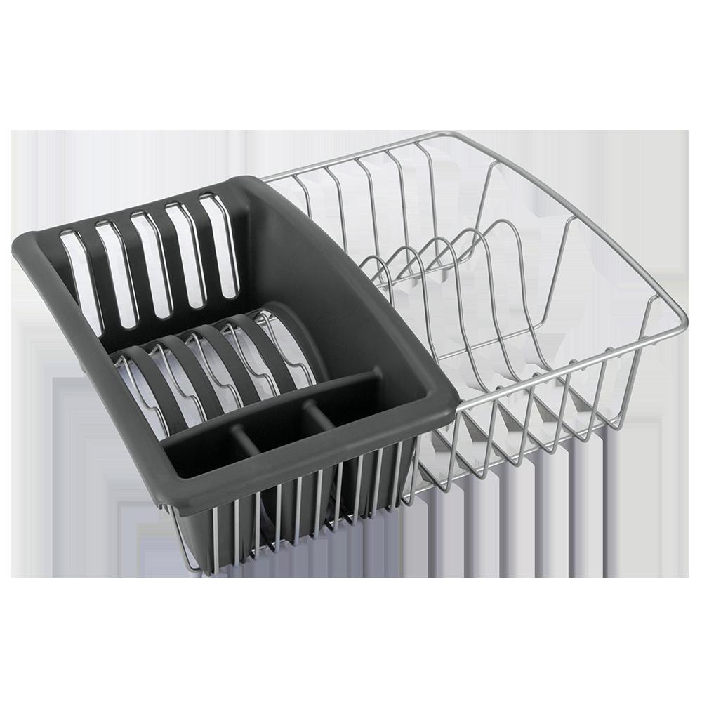 """Στεγνωτήριο Πιάτων Με Θήκη """"Aquatex"""" Metaltex 35x30x11εκ. – METALTEX – 16-325025"""