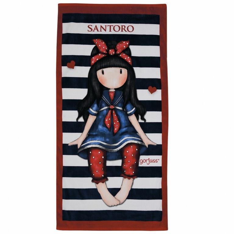 Πετσέτα Θαλάσσης Santoro 75×150εκ. Das Home 5810 (Ύφασμα: Βαμβάκι 100%) – Das Home – 5810-beach