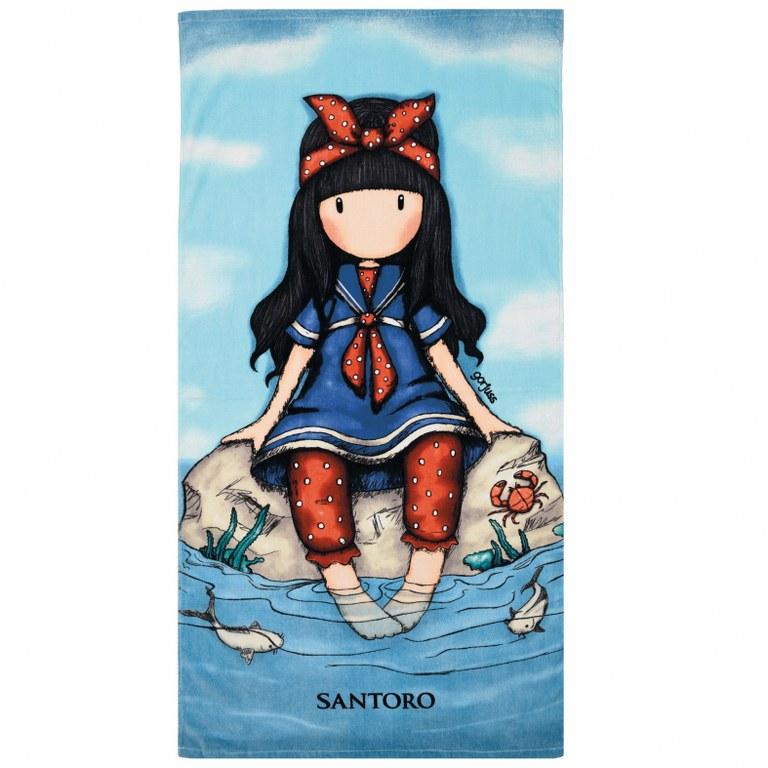 Πετσέτα Θαλάσσης Santoro Das 5807 - Das Baby - 5807-beach λευκα ειδη θαλάσσης πετσέτες θαλάσσης