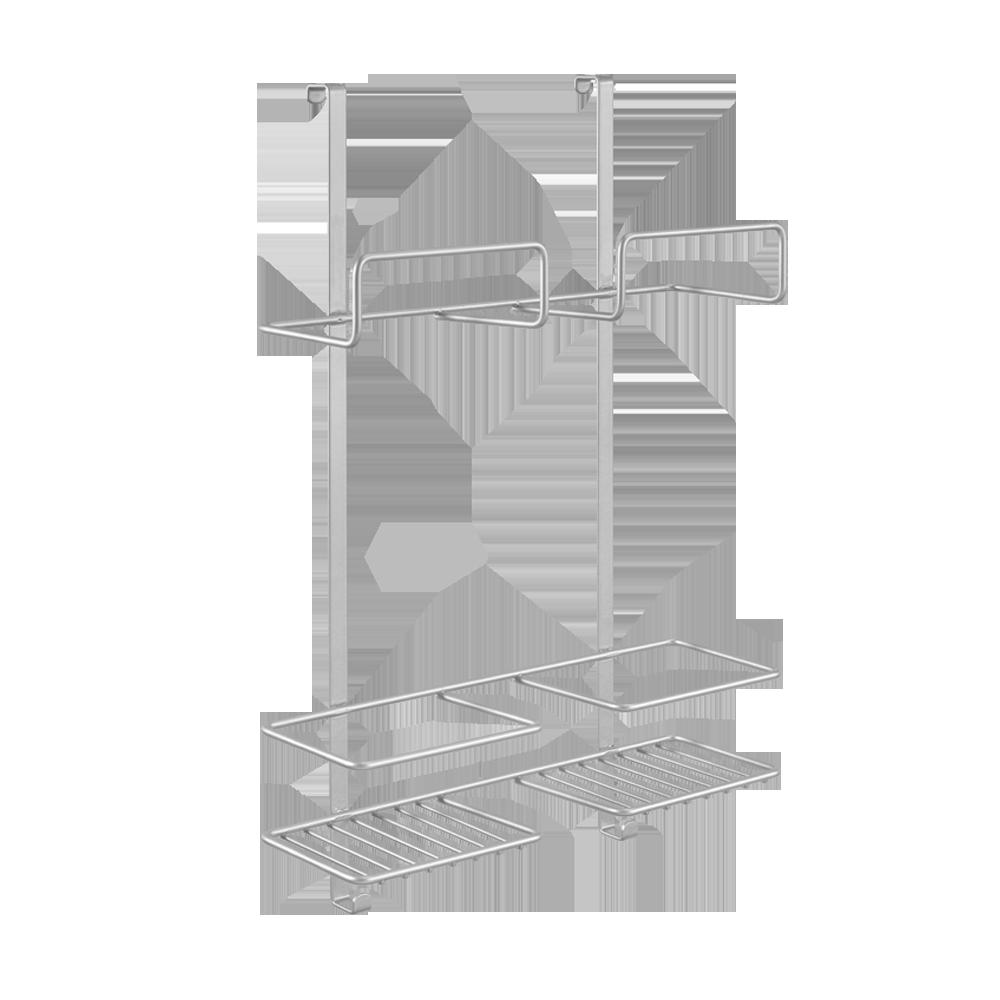 """Γάντζος Πόρτας «Broomy"""" Metaltex 30x12x46εκ. 350902 – METALTEX – 350902"""