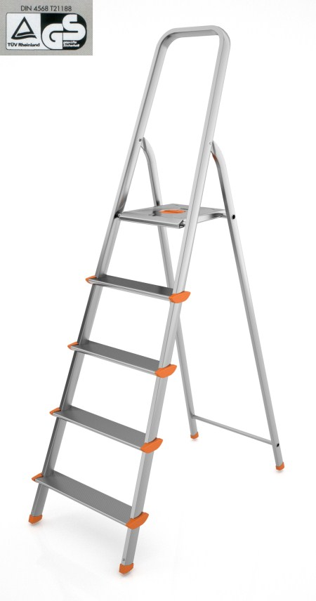 Σκάλα Αλουμινίου PAPILLON με 4 Σκαλιά – COLOMBO – 109-4-1