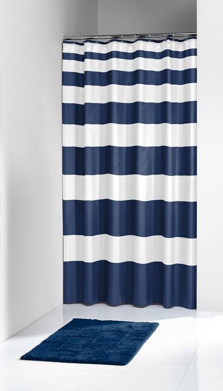 """Κουρτίνα Μπάνιου Υφασμάτινη """"Nautica Blue"""" 180x200εκ. Sealskin - sealskin - 2332 λευκα ειδη mπάνιο κουρτίνες μπάνιου"""