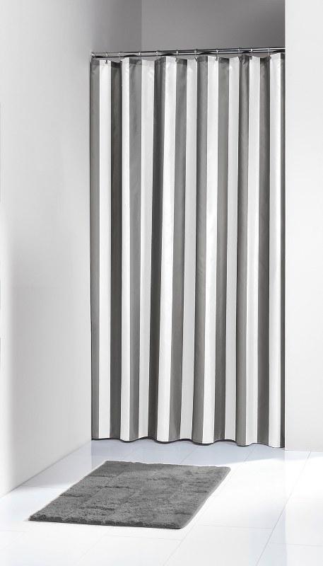 Κουρτίνα Μπάνιου Υφασμάτινη «Linje Grey» Sealskin 180×200εκ. – sealskin – 233011314