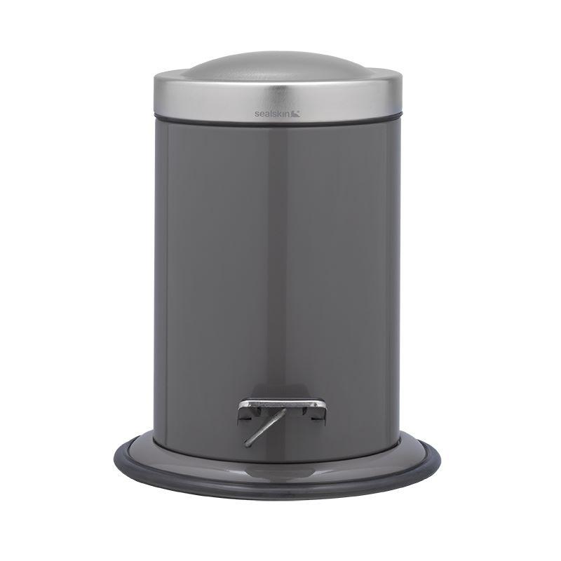 Καλάθι Απορριμάτων Acero Grey 3Lt Sealskin 361732414 – sealskin – 361732414