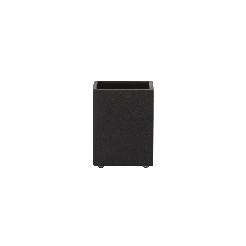 """Ποτηροθήκη """"Cura"""" Polyresin Black Sealskin 361920419 (Υλικό: Polyresin) – sealskin – 361920419"""