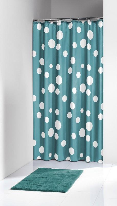 """Κουρτίνα Μπάνιου Πλαστική """"Bubbles Aqua"""" Sealskin 180×200εκ. (Υλικό: Πλαστικό) – sealskin – 210821330"""