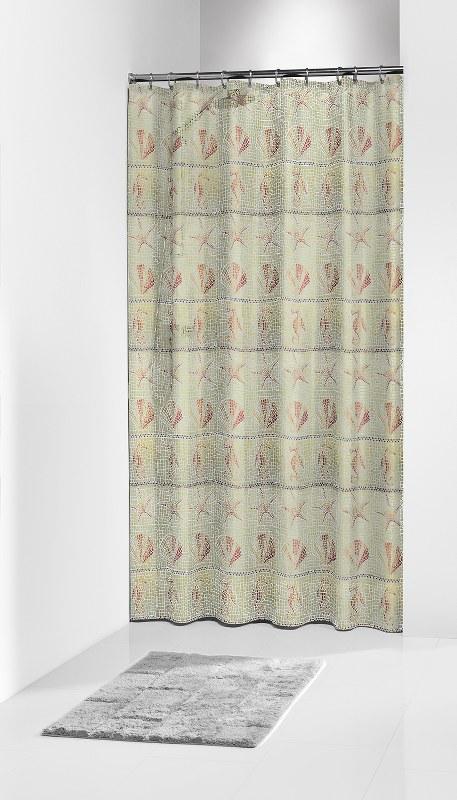 """Κουρτίνα Μπάνιου Πλαστική """"Elba Terra"""" Sealskin 180×200εκ. – sealskin – 210511373"""