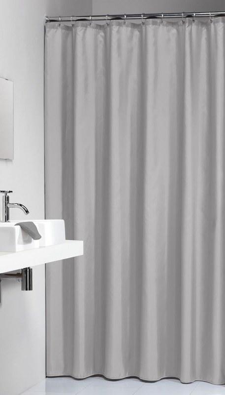 """Κουρτίνα Μπάνιου Πλαστική """"Granada Light Grey"""" Sealskin 180×200εκ. – sealskin – 217001311"""